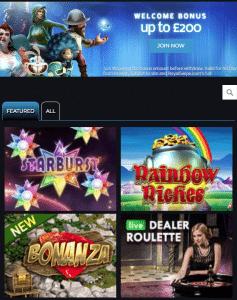 RoyalSwipe Lobby - Phone Bill Casino