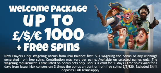 50 Free Spins on Book of Dead on your first deposit